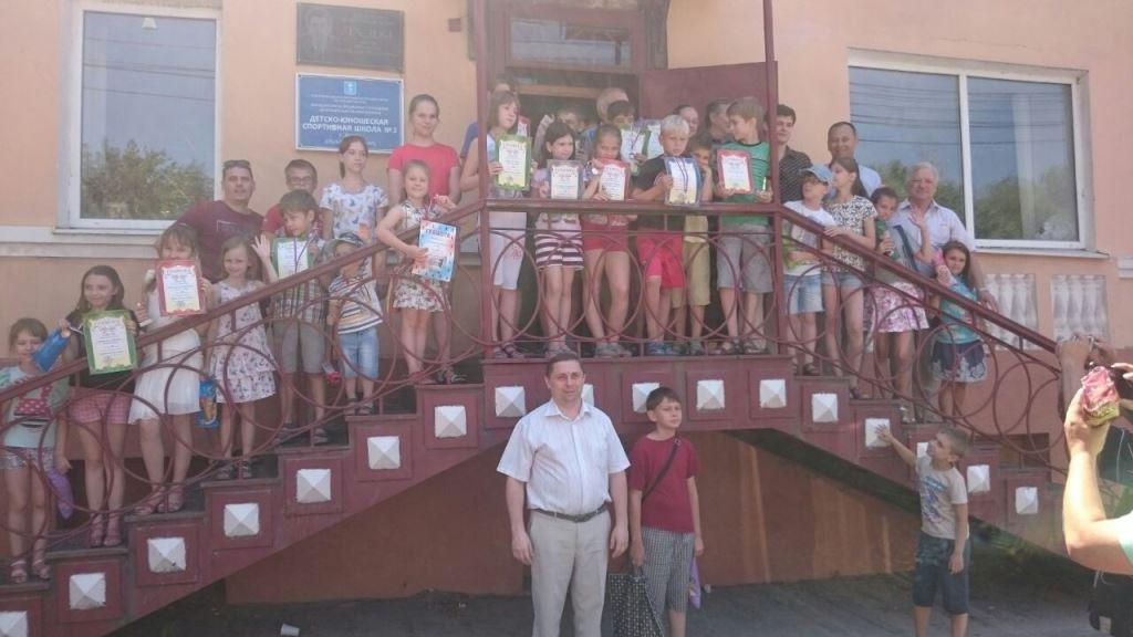 Дети общее фото победителей