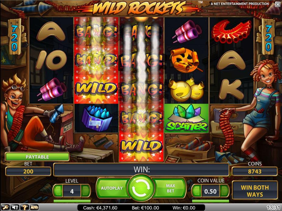 Слот Wild Rockets бесплатно и на деньги